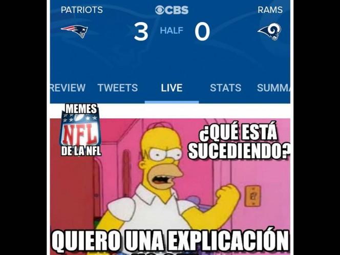 Memes Super Bowl, Super Bowl Lii, Patriotas Nueva Inglaterra, New England Patriots, Ángeles Rams, Carneros Ángeles, Super Bowl, Mercedes-Benz Stadium, Memes, Noticias, Adrenalina, Excélsior,
