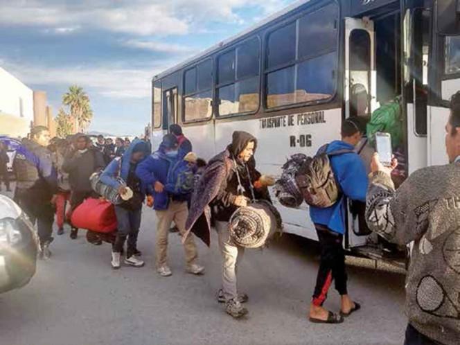 Migrantes centroamericanos piden regresar a sus países