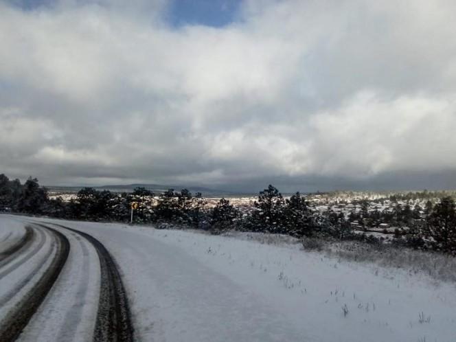 Frente frío 35 provocará nevadas y lluvias en noroeste de México