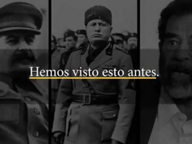 Compara a Maduro con Stalin, Mussolini, Huseín, Idi Amin y Gadafi