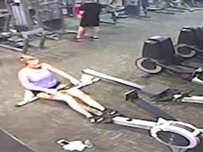 Mujer sufre infarto mientras hacía ejercicio en el gimnasio