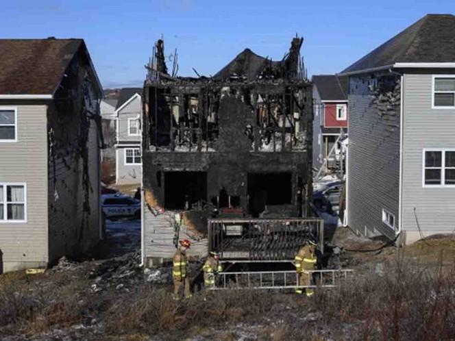 Mueren siete niños refugiados sirios en incendio en Canadá
