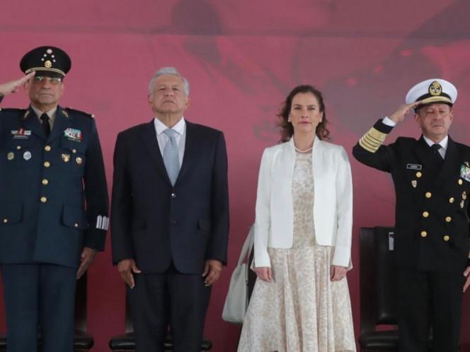 Beatriz Gutiérrez Müller felicita al Ejército Mexicano