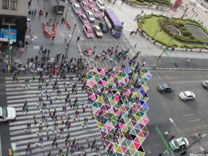 Opera como otros cruces diagonales de ciudades como Tokio.