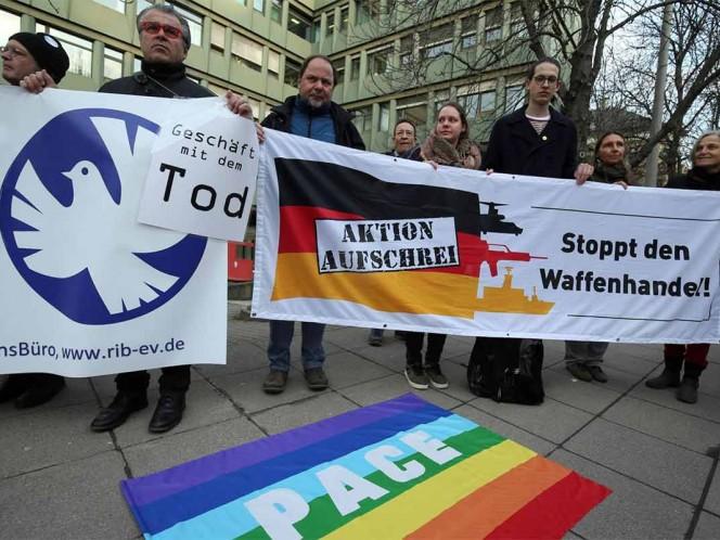Condenas en Alemania por venta ilegal de armas a México