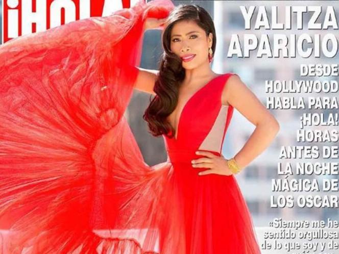 Yalitza Aparicio irradia belleza; aparece en portada de ¡Hola!