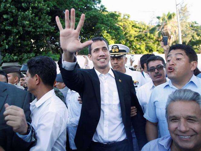 EEUU felicita a opositor Guaidó tras su regreso a Venezuela
