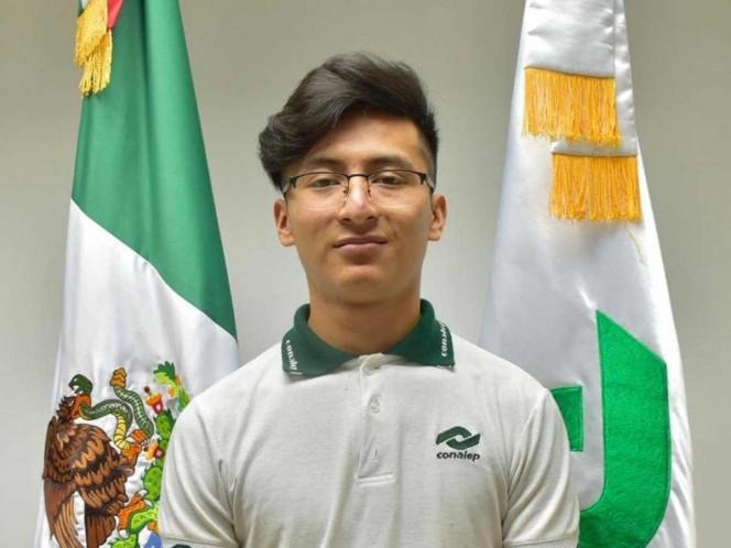 Estudiante del Conalep gana medalla de plata en competencia internacional