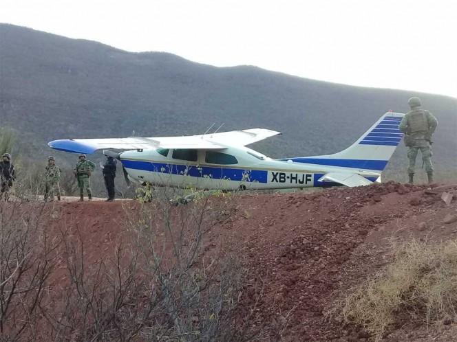 La avioneta fue localizada cerca de la comunidad de El Balsas, municipio de Coahuayutla, en la Costa Grande de Guerrero. – Foto: Especial