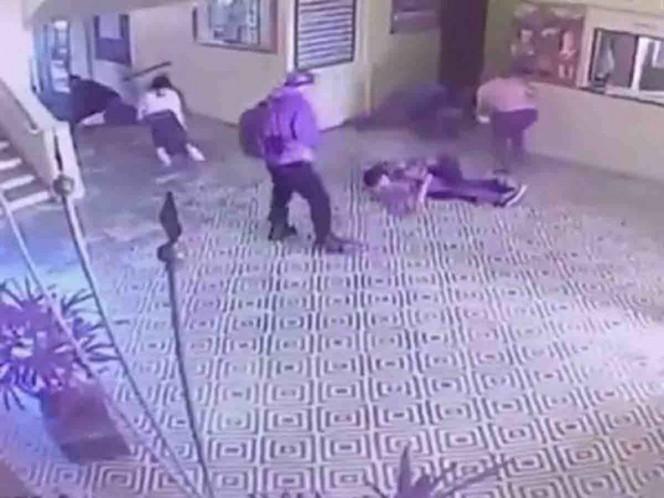 Difunden video de la matanza en escuela de Brasil