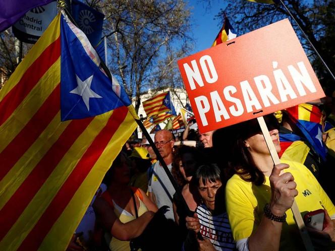 Streaming: Manifestación en Madrid contra el juicio del 'procés'