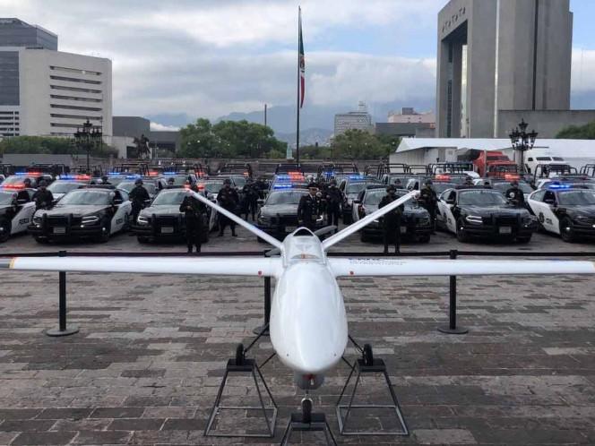 'El Bronco' presume 'dron' de 54 mdp para combatir al crimen