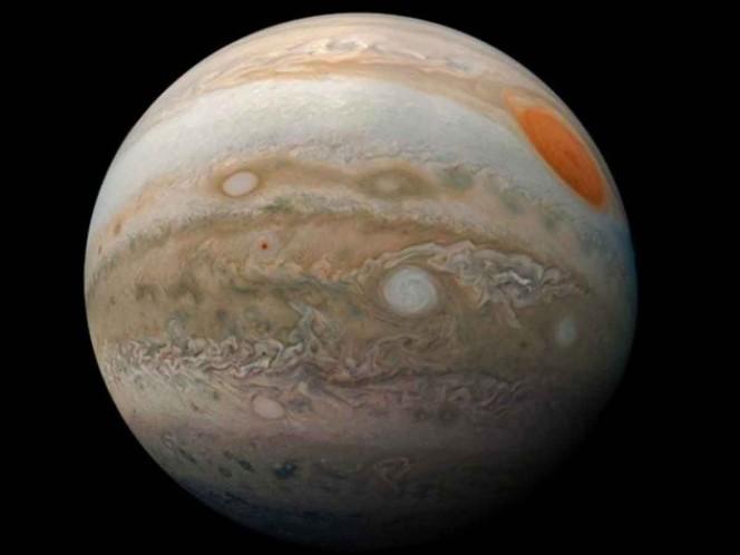 La NASA dio a conocer nuevas fotografías de Júpiter