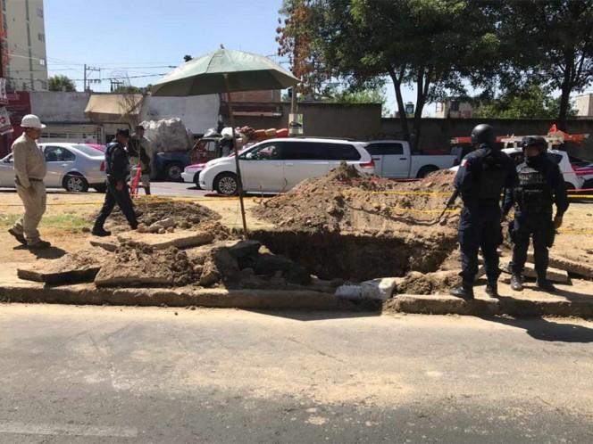Explota ducto en Axapusco, Estado de México