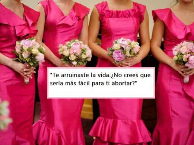 Novia pide a dama de honor abortar antes de la boda