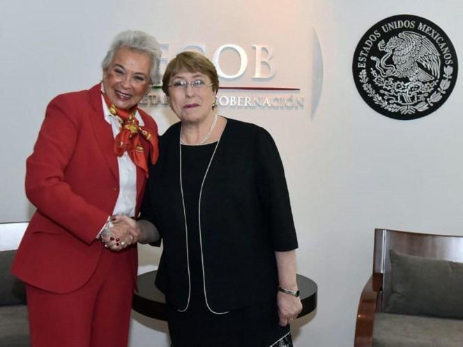No se logra seguridad sin respeto a derechos humanos, afirma Bachelet