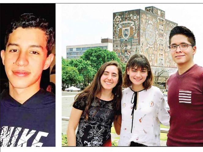 Llegan a la UNAM con puntaje perfecto; estudiarán medicina y física