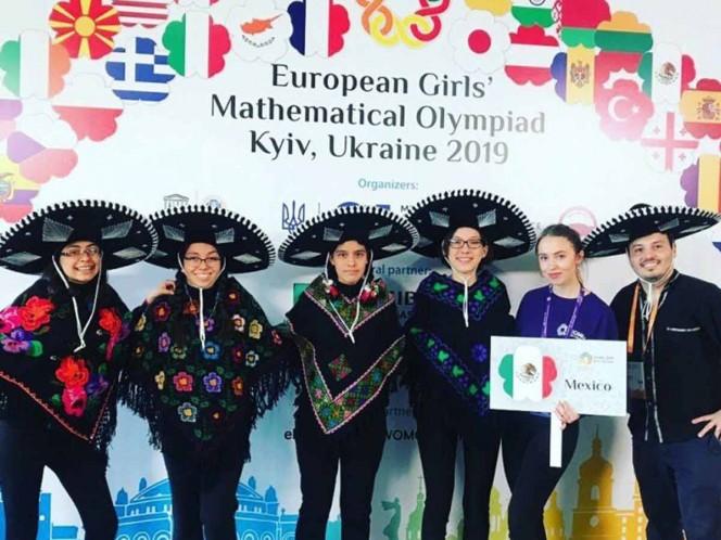 México gana oro y plata en Olimpiada Europea Femenil de Matemáticas