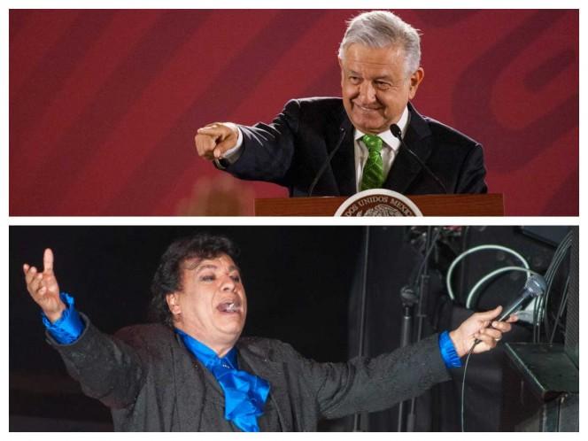 Juan Gabriel, vivo o muerto, es 'amor eterno': López Obrador