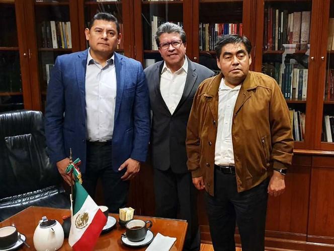 Logra Monreal reunión entre Armenta y Barbosa