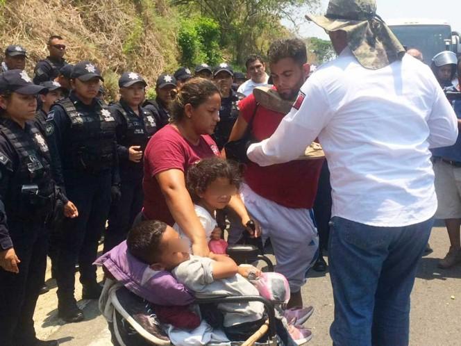 Darán tarjeta de visitantes a migrantes detenidos