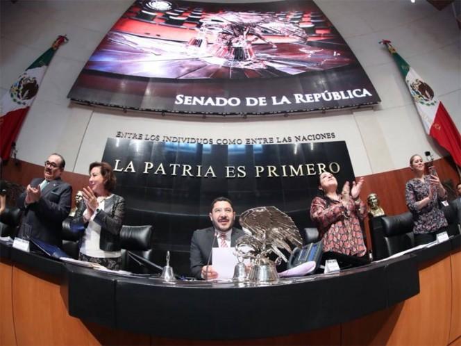 El Pleno del Senado de la República aprobó por unanimidad con 112 votos a favor el dictamen por el cual se otorgará seguridad social a las trabajadoras del hogar. – Foto: @senadomexicano