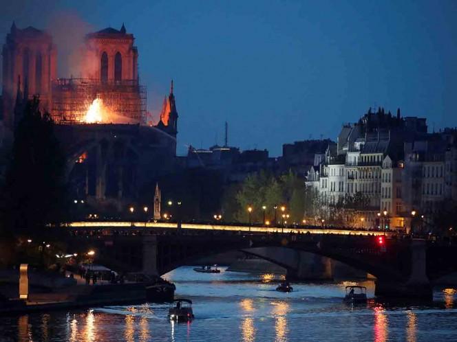 Se inician las obras de cobertura por lluvias en Notre Dame