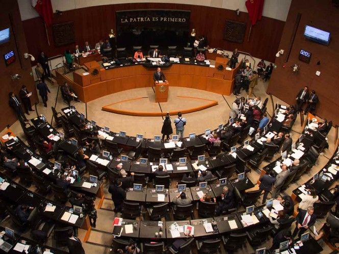 Senado avala en lo general libertad sindical en el país