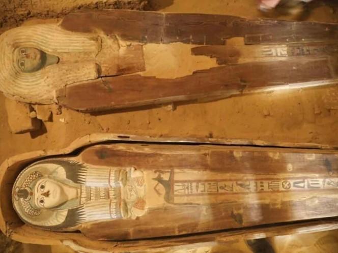 Hallan extraño cementerio cerca de pirámides de Giza