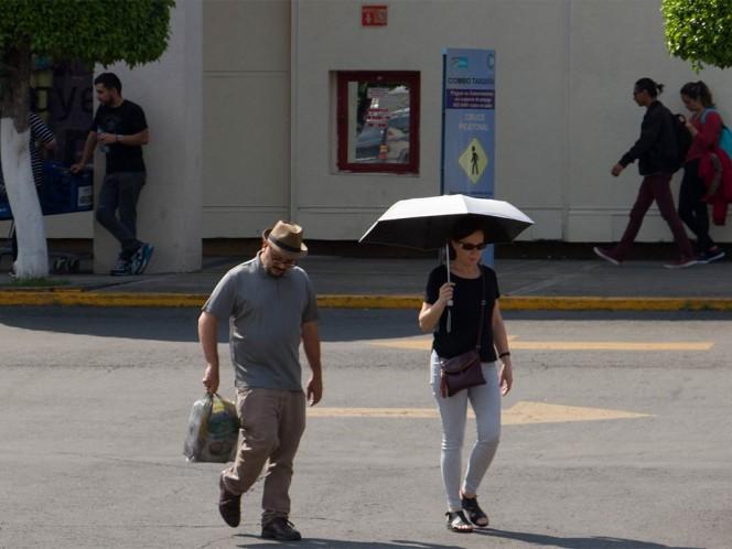 Prevén lunes lluvioso en la CDMX y el Edomex