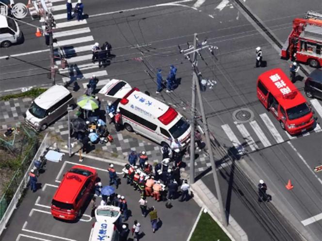 Japón: Un auto atropelló a niños de jardín y dejó dos muertos