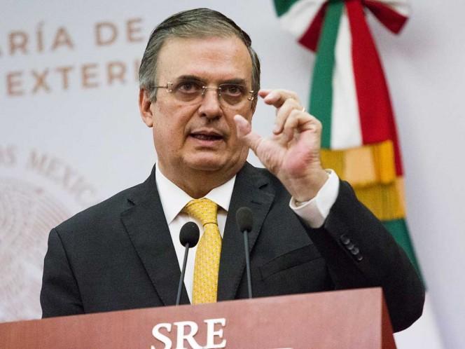 Marcelo Ebrard Cancillería Secretaría de Relaciones Exteriores México Estados Unidos Cuba bloqueo