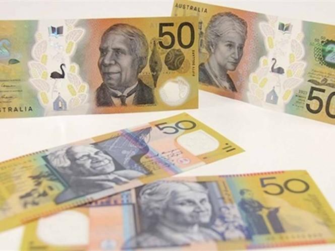 Australia imprime billetes con error ortográfico. Los descubren cuando ya estaban impresos