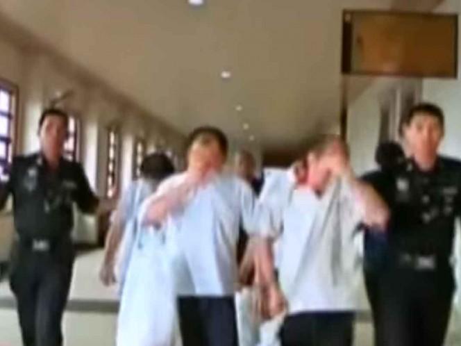 Dan perdón a tres mexicanos condenados a muerte en Malasia