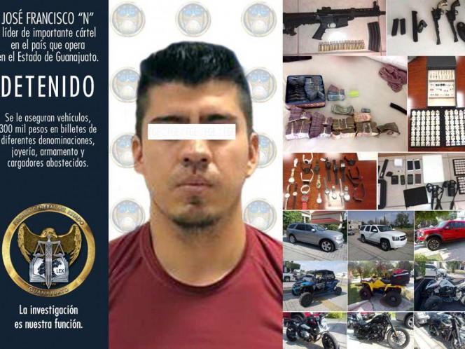 Cae presunto líder del Cártel del Golfo en Guanajuato