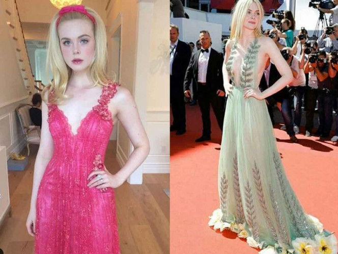 Vestido demasiado ajustado provocó desmayo de la actriz Elle Fanning — Cannes