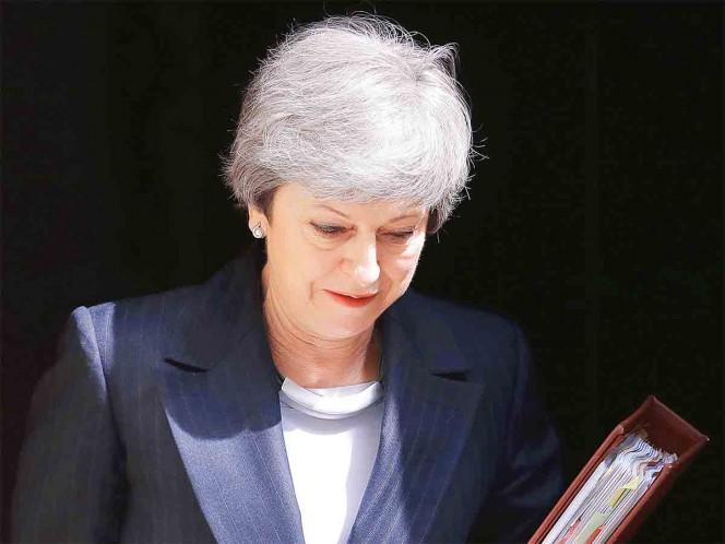 Theresa May, al pie del abismo por Brexit