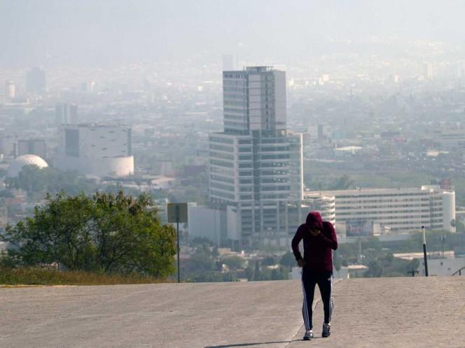 Persiste la mala calidad del aire en Monterrey
