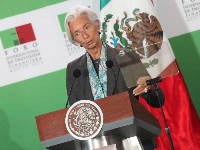 Se reunirán Lagarde, del FMI, con López Obrador