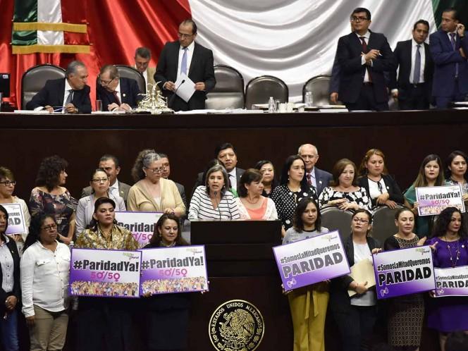 Diputados aprueban paridad de género en cargos públicos