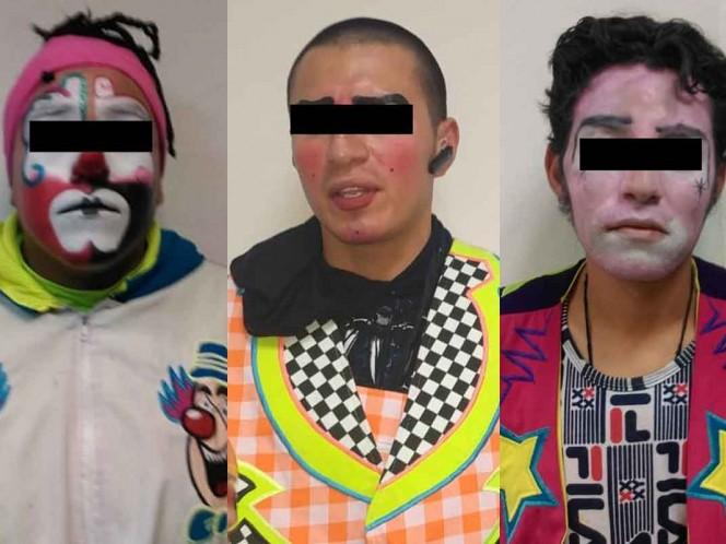 Caen tres payasos por intentar secuestrar a niña en Neza