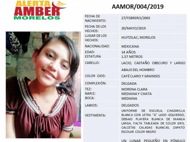 Desaparece otra jovencita de 14 años en Morelos
