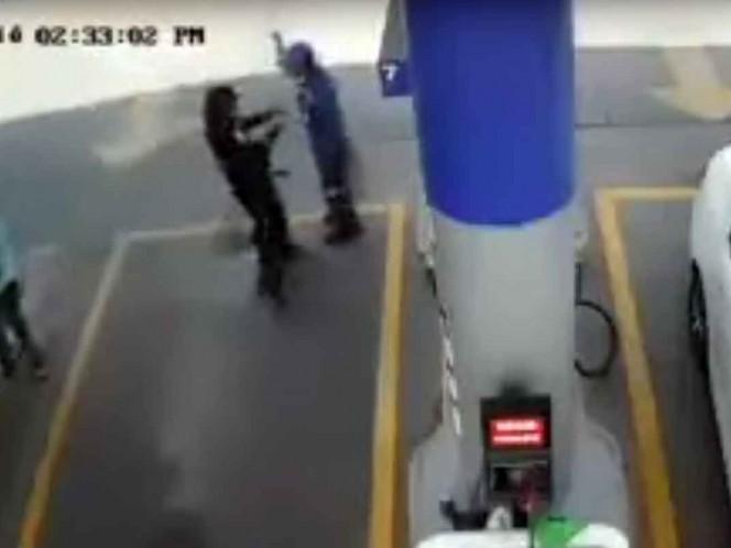 Asesinan a despachador de gasolina para robarle