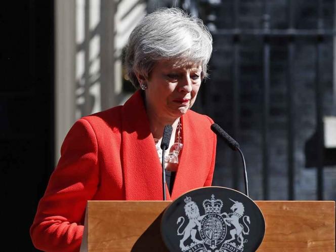 Theresa May declinará como primera ministra del Reino Unido el 7 de junio