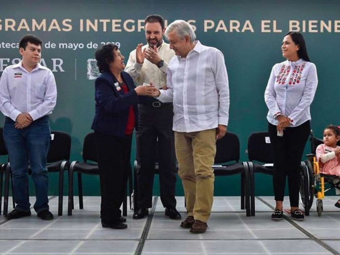 Primeras lluvias llegan a Zacatecas con arribo de López Obrador