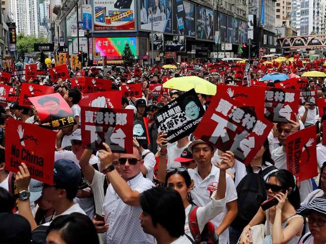 Hong Kong, al rojo vivo por la ley de extradición a China