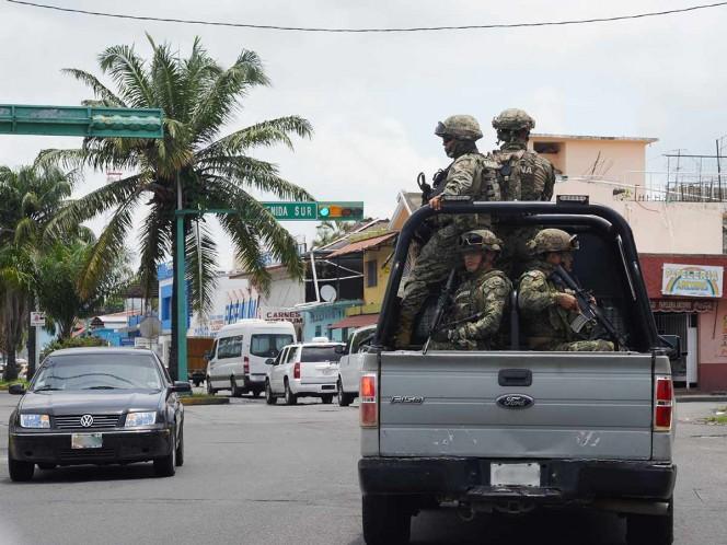 Guardia Nacional ya vigila la frontera sur de México