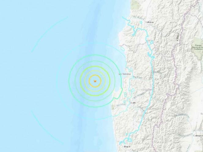 Terremoto de magnitud 6.5 sacude el norte de Chile