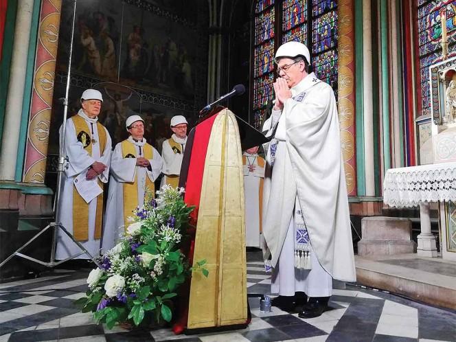 'Notre Dame está viva'; a dos meses del incendio