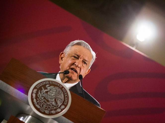 Ofrece López Obrador su tradicional mensaje